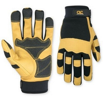 Image of Kunys 275 Hybrid Top Grain Leather Cuff Glove Large