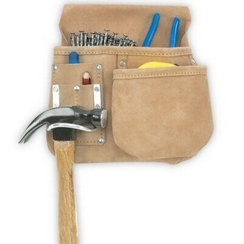 KUNY'S AP719 SPLIT GRAIN LEATHER HALF APRON