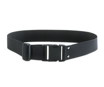 KUNY'S EL898 2IN NYLON BELT WITH SNAP LOCK (BLACK)