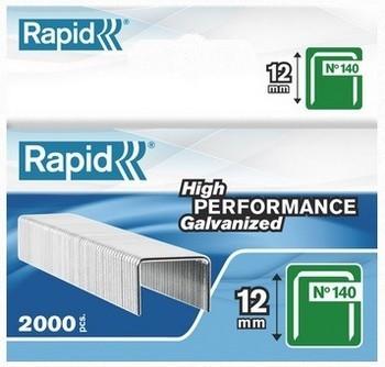 Image of Rapid 14012 Galvanised Staples Box Of 2000
