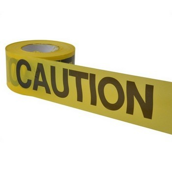 HANSON 19000 TAPE CAUTION 1000FT ECONOMY GRADE YELLOW lowest price
