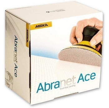 Image of Mirka 150mm Abranet Ace Sanding Discs P120 Pack Of 50