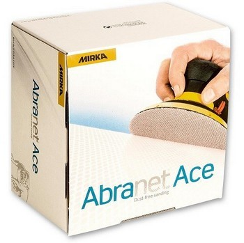 MIRKA 150MM ABRANET ACE SANDING DISCS P320 (PACK OF 50)
