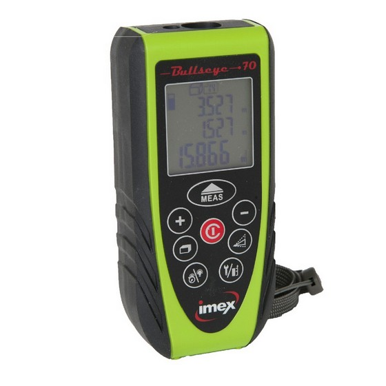 Image of Imex Bullseye 70 70m Laser Distance Measurer