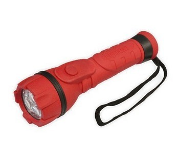 LIGHTHOUSE 3LED RUBBER TORCH 2AA