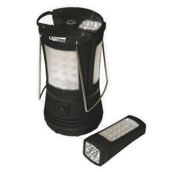 LIGHTHOUSE 70LED CAMPING LAMP WITH 2 DETACHABLE TORCHES