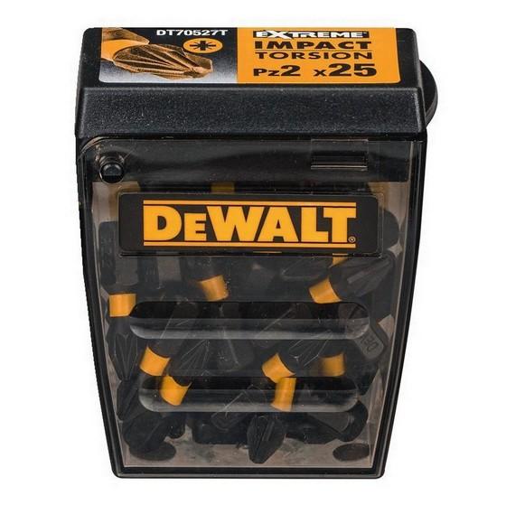 Image of DEWALT DT70527T PZ2 IMPACT SCREWDRIVER BITS TIC TAC PACK OF 25