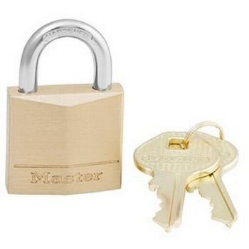 Image of Master Lock 30mm Solid Brass Padlock