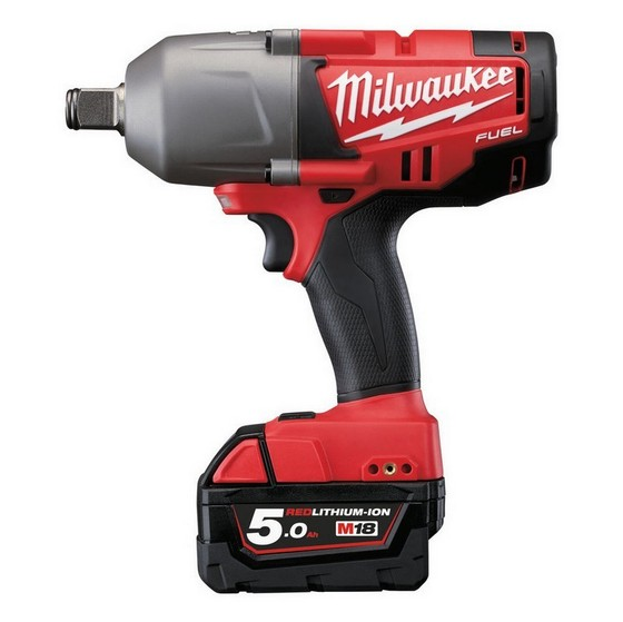 MILWAUKEE M18CHIWF34-502C 18V HEAVY DUTY BRUSHLESS 3/4IN IMPACT WRENCH WITH 2X 5.0AH LI-ION BATTERIES