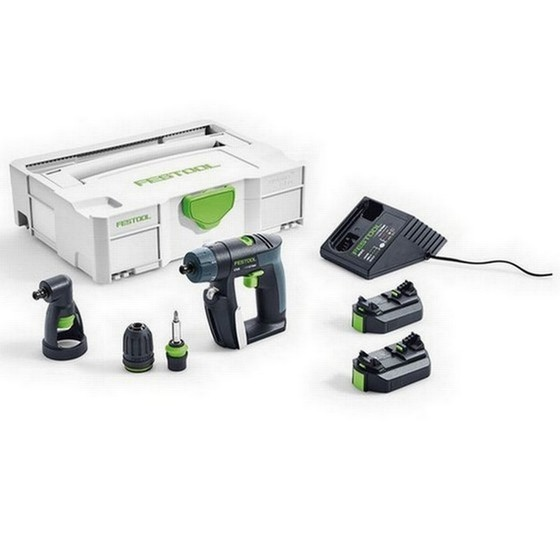 Image of FESTOOL 564533 CORDLESS 108V CXS DRILL DRIVER 26SET GB WITH 26AH LIION BATTERY