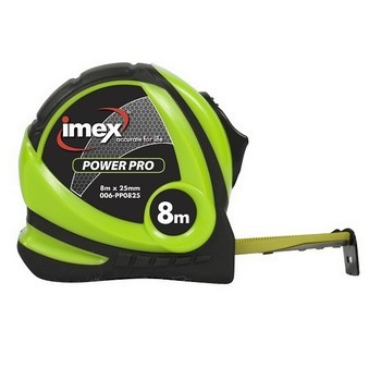 Image of IMEX 8M TAPE MEASURE