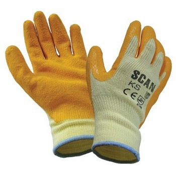 SCAN KNITSHELL LATEX PALM GLOVES