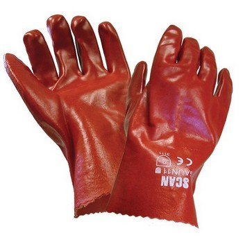 SCAN GAUNTLET PVC 27CM 11IN GLOVES lowest price