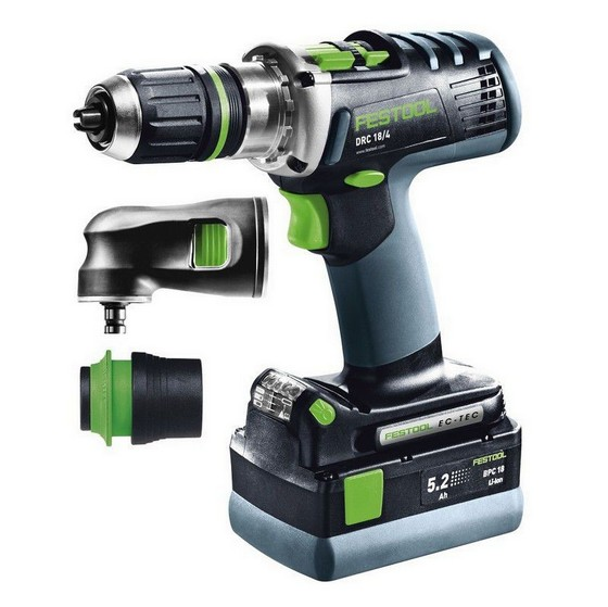FESTOOL 564586 18V ROTARY HAMMER DRILL WITH 2X 5.2AH LI-ION BATTERIES