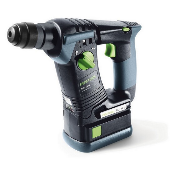 festool 564589 bhc 18 hammer drill with 2x li ion batteries. Black Bedroom Furniture Sets. Home Design Ideas