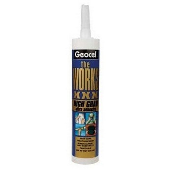 GEOCEL 6022007 DD99R THE WORKS XXX SEALANT ADHESIVE 290ML WHITE