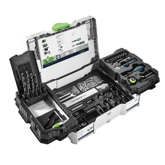 FESTOOL 500875 LIMITED EDITION CENTROTEC WOOD SET PACKAGE