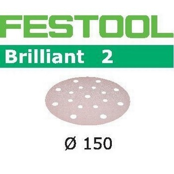 FESTOOL 496589 PACK OF 100 BRILLIANT SANDING DISCS 120 GRIT