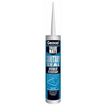 GEOCEL 2940302 TRADE MATE SILICONE SANITARY SEALANT 310ML CLEAR lowest price