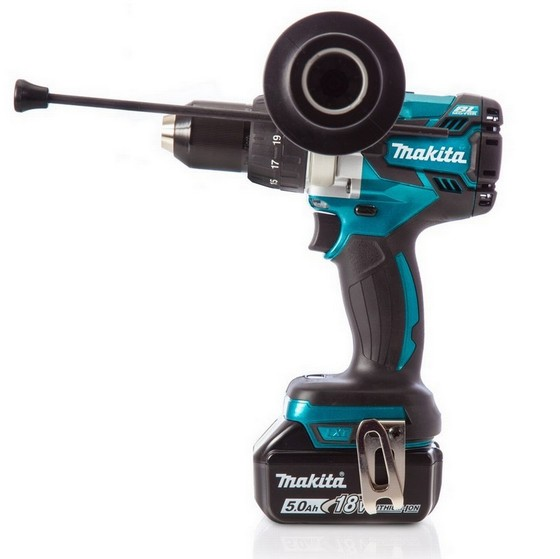 MAKITA DHP481SP1R 18V ANNIVERSARY BRUSHLESS COMBI HAMMER DRILL WITH 1X 5.0AH LI-ION BATTERY