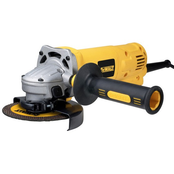 DEWALT D28113K-GB 115MM ANGLE GRINDER 240V WITH KIT BOX