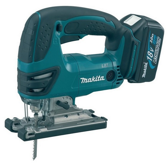 Image of MAKITA DJV180RMJ 18V JIGSAW WITH 2X 40AH LIION BATTERIES