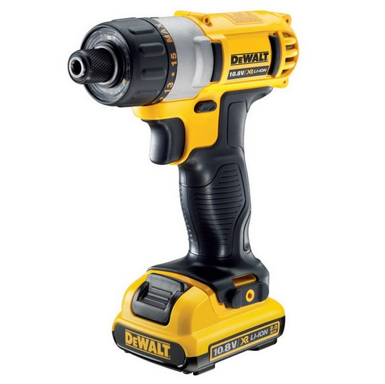DEWALT DCF610D2 10.8V SCREWDRIVER WITH 2X 2.0AH LI-ION BATTERIES
