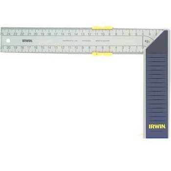IRWIN 10503544 ALUMINIUM TRY AND MITRE SQUARE 300MM
