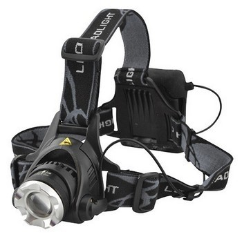 LIGHTHOUSE 3 FUNCTION LED ZOOM HEADLIGHT INCLUDES BATTERIES