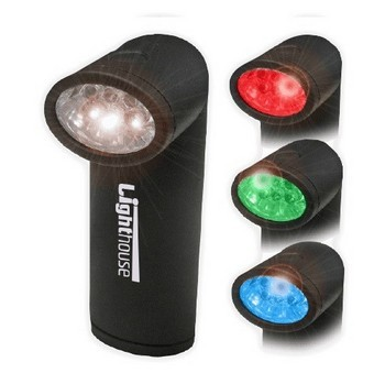 LIGHTHOUSE MAGNETIC BASE COLOUR CHANGING TORCH INCLUDES BATTERIES