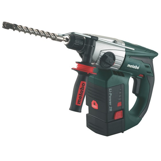 Image of Metabo Kha18 Ltx 18v Sds Hammer Drill With 2x 52ah Liion Batteries