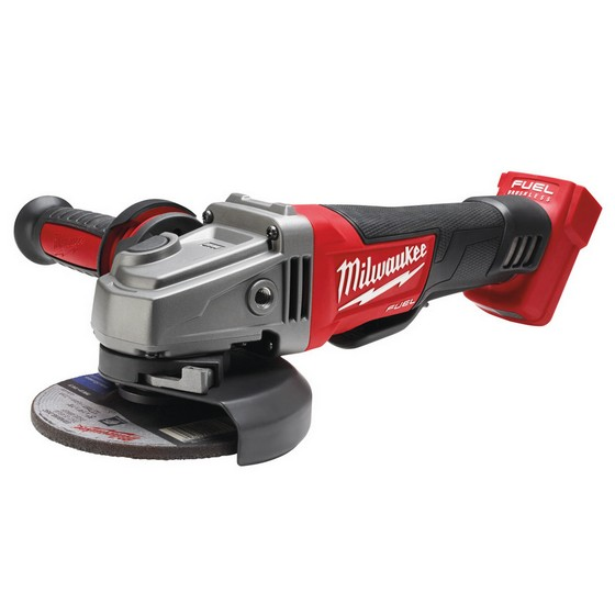 Image of Milwaukee M18cag115xpd0 18v Brushless Angle Grinder Body Only