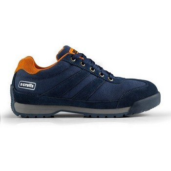 SCRUFFS HALO SAFETY TRAINER NAVY SIZE 10 lowest price