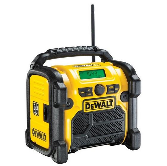 Image of DEWALT DCR020 108V144V18V XR COMPACT DAB DIGITAL RADIO