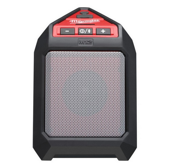 MILWAUKEE M12JSSP0 BLUETOOTH SPEAKER BATTERY NOT INCLUDED