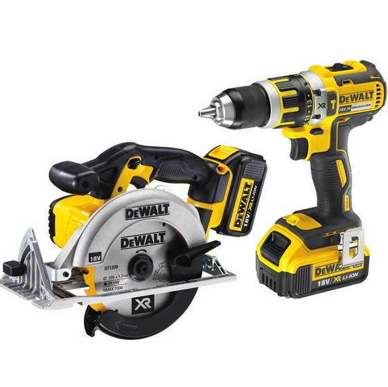 DEWALT DCK205M2T TWIN PACK WITH 2X 4.0AH LI-ION BATTERIES
