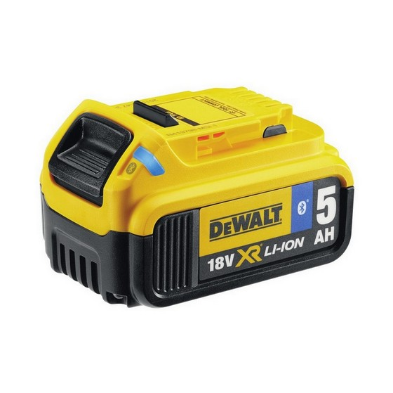 Image of DEWALT DCB184B 18V 50AH XR LITHIUM ION BATTERY PACK WITH BLUETOOTH TECHNOLOGY