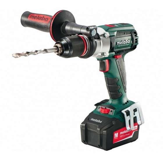 METABO SB18 LTX BL IMPULS 18V BRUSHLESS COMBI DRILL WITH 2X 4.0AH LI-ION BATTERIES