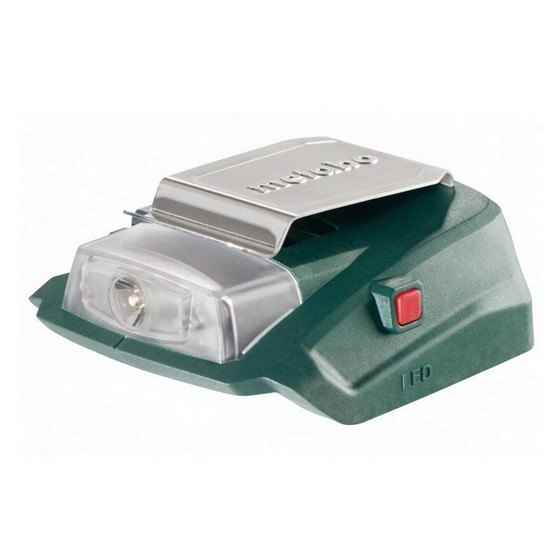 METABO PA 14.4-18 LED LAMP AND USB BATTERY CHARGING ADAPTOR
