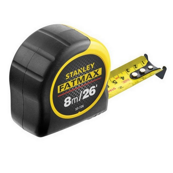 STANLEY FATMAX BLADE ARMOR TAPE MEASURE 8M/26FT