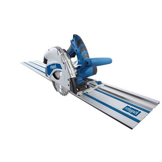SCHEPPACH PL 55 SET 160MM PLUNGE SAW WITH 2X 70CM RAILS + KIT