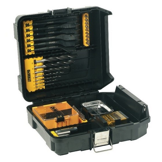 DEWALT DT9282-QZ 57 PIECE ASSORTED WOOD DRILLING SET