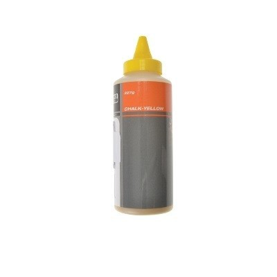 BAHCO CHALK POWDER TUBE 227G (YELLOW)