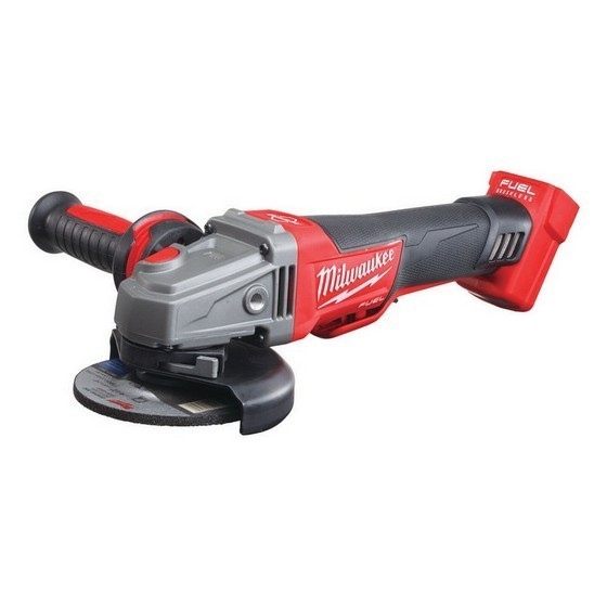 Image of MILWAUKEE M18CAG115XPDB0 FUEL ANGLE GRINDER WITH BRAKE BODY ONLY