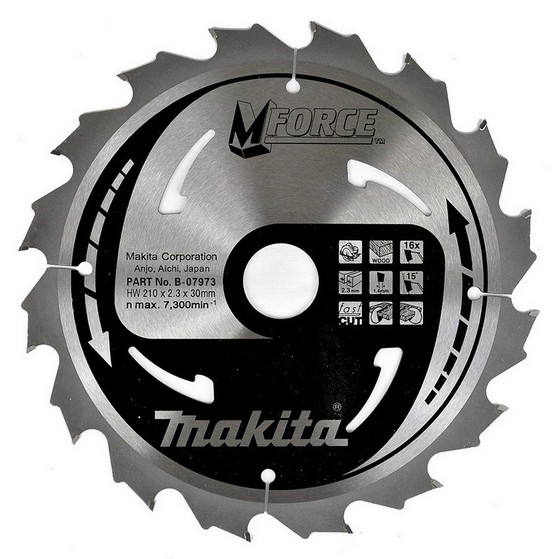 MAKITA B-07973 CIRCULAR SAW BLADE 210MM