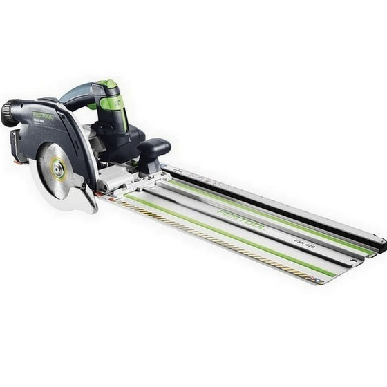 Image of FESTOOL 574681 HK55 EBQPLUSFSK420 CIRCULAR SAW WITH RAIL 240V