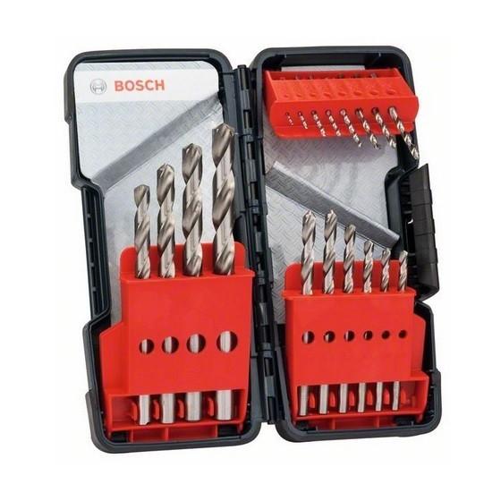 Image of Bosch 2607019578 18 Piece Hss Drill Bit Set