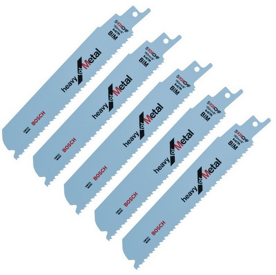 BOSCH 2608657397 METAL CUTTING BLADES (PACK OF 5)