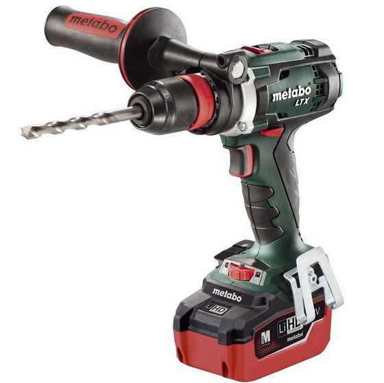 METABO BS18 LTX QUICK 18V IMPULS DRILL DRIVER WITH 2X LiHD 5.5AH LI-ION BATTERIES