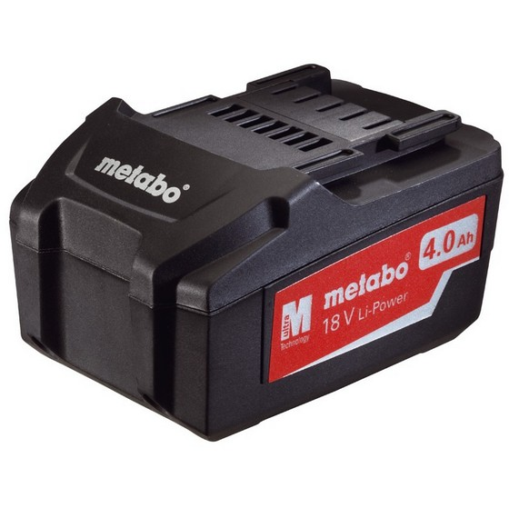 METABO 18V 4.0AH LITHIUM ION BATTERY PACK